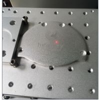 爆款阳极氧化铝铭牌厂标汽车灯具苹果铝板CD壳氧化铝打黑刻字机