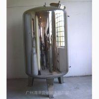 热销304不锈钢水箱无菌水箱卫生级水箱人孔 就选清泽蓝厂家