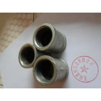 供应无棣鑫润五金生产铸铁碳钢镀锌DN25内丝螺纹管古