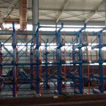 广东板材企业专用货架 卧式板材存放架 抽屉式货架