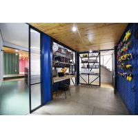 住人集装箱房 简易移动临时房 A级防火办公室 彩钢房 全新活动房夹芯板集成房