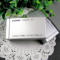 HDMI网线延长器 网络传输器放大器 单线网线60米100M 1080P支持3D