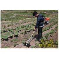 绿茶茶园小型锄地机 背负式多功能汽油割草机
