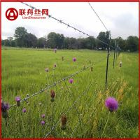 【牧场带刺丝隔离网】牧场带刺丝隔离网价格多少钱一米