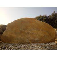 供应景观黄蜡石 招牌黄蜡石刻字 天然平面原石