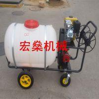 农用高压动力四轮喷药车 26型柱塞泵高压喷雾打药机