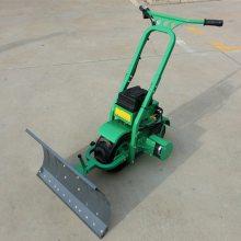 天德立CXJ-75轮式履带式铲雪机 电动手推式推土机 推沙机 推粪机