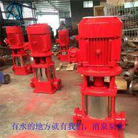 XBD10.0/25G-GDL*2多级消防泵 喷淋加压泵 XBD-GDL