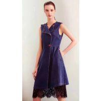 欧美品牌折扣女装米组多种款式尾货服装批发国内一线高档女装品牌
