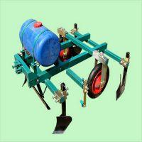 四轮拖拉机带喷药覆膜机 两行玉米花生播种机 多功能覆膜机富兴