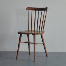 清远北欧实木西餐厅椅子定制