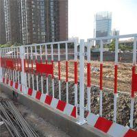 厂家直销施工临时隔离红白铁马护栏 移动不锈钢防撞黄黑护栏网价格