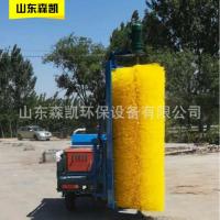 重庆厂家直销工地围挡清洗机 森凯围挡清洗车价格