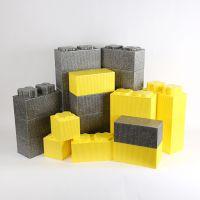 EPP积木乐园最新配件 高低凸块积木 厂家直销 环保耐用
