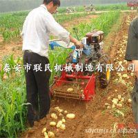 灵宝多型号紫薯收获机泰安联民 手扶牵引式薯类收获机 哪里卖