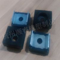 电梯橡胶门滑块生产厂家 金属包胶产品 重锤压块接头