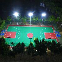 中山雅浩照明厂家8米篮球场灯杆安装 购买锥形体育场灯杆配附件