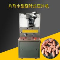 片剂小型旋转式压片机 多冲奶粉奶片不锈钢全自动压片机
