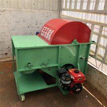 柴油机带动的毛豆采摘机 润众 便于挪动的毛豆采摘机