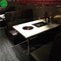 韩国烧烤店餐桌椅 烧烤店桌椅哪里定做 韩式家具