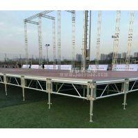 铝合金舞台桁架速搭钢铁雷亚架灯光架升降演出婚庆活动路演t台