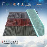 贵州贵阳彩石金属瓦厂家直接供货/抗风耐寒耐用/可重复利用