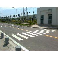 深圳厂家指示停车场划线 马路划斑马线 道路标线技术