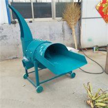 玉米杆揉丝机 家用电铡草揉丝机 河北羊饲料铡草机