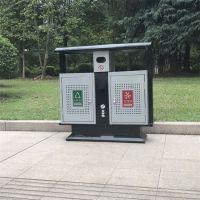 献县鑫建生产果皮箱 小区果皮箱 公园物业配套垃圾桶 厂家批发