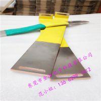 金泓厂家低价供应大电流铜箔导电带/绝缘软铜排