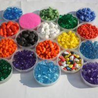 高强度喷砂玻璃珠 喷丸玻璃微珠 玻璃砂 喷砂磨料