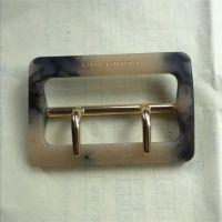 金属横梁树脂腰带扣字母日字扣皮带扣头