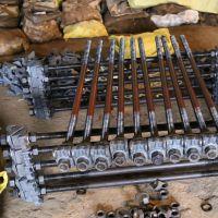 绝缘规矩拉杆 紧固轨道600轨距拉杆 山煤机械22*600