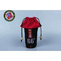 销售高档绒布酒布袋红酒包装袋