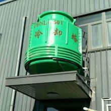 注塑机配套逆流式冷却塔30吨40吨50吨现货供应 【华强】
