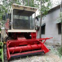 玉米青储收割机 高效自走式青饲料回收机