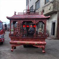 供应长方形八龙柱铸铁香炉 关帝庙土地庙庙宇宫观带盖香炉