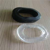 辉晟厂家订做TPU填充硅油海绵皮耳套吸塑硅胶皮耳套