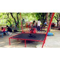 蹦蹦床 热销儿童公园小型回本快游乐设备跳跳床郑州宏德游乐供应