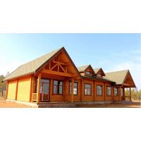 乡村农庄户外防腐木木屋别墅庭院定制小型木房子设计组装建造移动