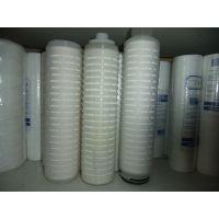 PP微孔折叠滤芯 10寸聚丙烯膜折叠滤芯 5微米 有图片就能订做