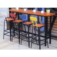 星巴克桌椅餐厅桌高脚凳酒吧咖啡厅吧台桌椅皮椅家用吧台