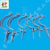华来特杆用抱箍优质6*60扁钢材质单长尾电杆紧固件