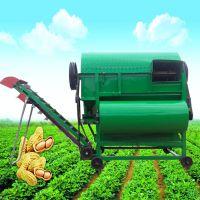 农用新型摘果机 电动摘果机 小型全自动花生去秧机金佳