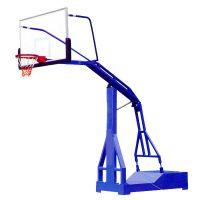 广东君诚移动式单臂篮球架 篮球架安装 篮球场建设