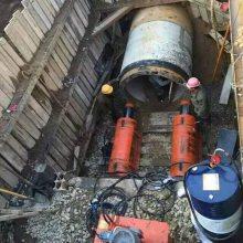 非开挖水泥管穿越设备 液压地下顶管机器 洪鑫直销