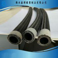 AN6尼龙线编油冷器管改装车橡胶软管