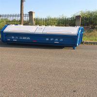 沧州绿美供应大型垃圾箱 户外垃圾箱 铁质垃圾箱 勾臂式垃圾桶 厂家批发