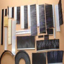 防尘条刷 铝合金条刷 门底密封毛刷 pvc条刷 尼龙条刷 电梯条刷