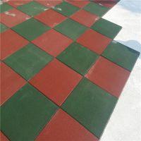 深圳健身房地垫 力量区专用弹性地垫 橡胶颗粒压制块状地垫